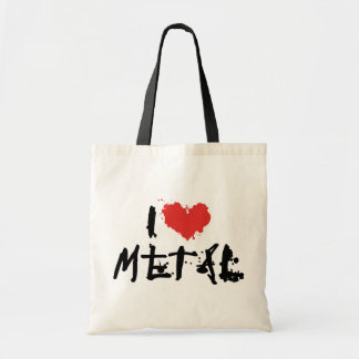 私は金属を愛します トートバッグ