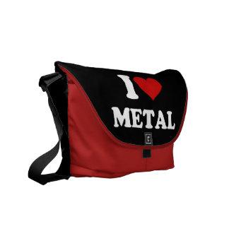 私は金属を愛します メッセンジャーバッグ