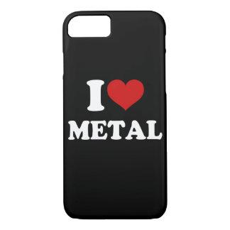 私は金属を愛します iPhone 7ケース