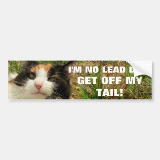 私は鉛犬猫のミームではないです バンパーステッカー