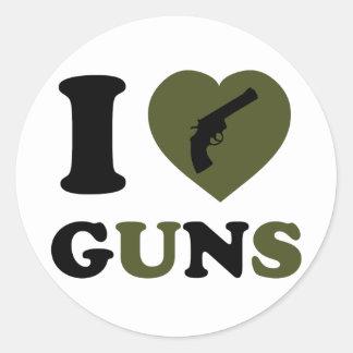 私は銃を愛します ラウンドシール