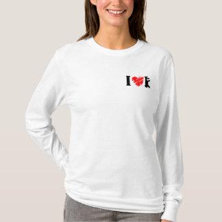 私は銃を愛します Tシャツ