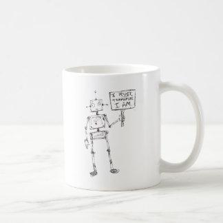 私は錆つきます、従って、私は…あります コーヒーマグカップ