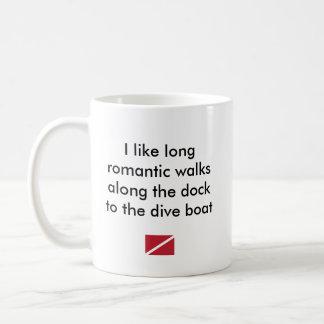 私は長くロマンチックな…飛び込みのボートを好みます コーヒーマグカップ