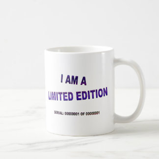 私は限定版のコーヒー・マグです コーヒーマグカップ