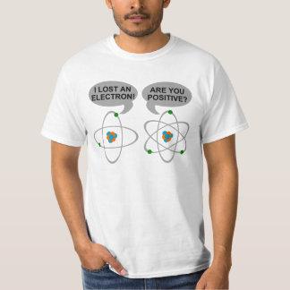 私は電子おもしろいで真面目なTシャツを失った Tシャツ