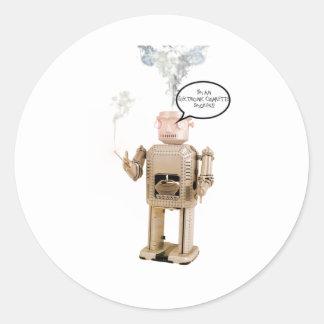 私は電子喫煙者です! ラウンドシール
