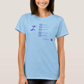 私は電気を運転します Tシャツ