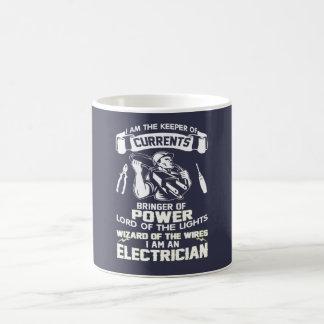 私は電気技師です コーヒーマグカップ