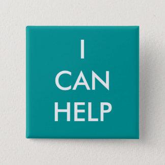 私は青い有志ボタンの慈善のイベントを救済してもいいです 缶バッジ