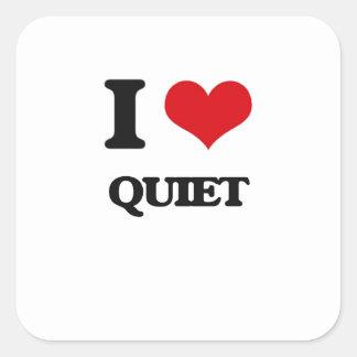 私は静かに愛します スクエアシール