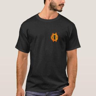 私は非常に困難-前部および背部です Tシャツ
