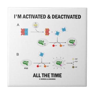 私は非活動化させた生物学いつも活動化させ、 タイル