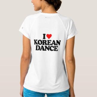 私は韓国のダンスを愛します Tシャツ