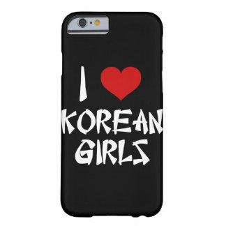 私は韓国の女の子のiPhone 6/6sを愛します Barely There iPhone 6 ケース