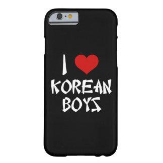 私は韓国の男の子のiPhone 6/6sを愛します Barely There iPhone 6 ケース