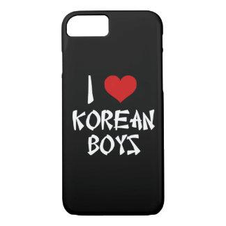 私は韓国の男の子を愛します iPhone 8/7ケース