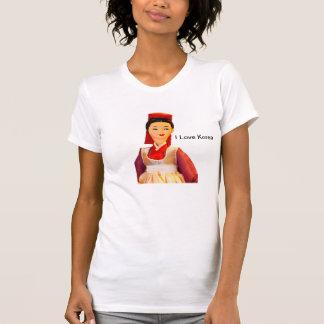 私は韓国のTシャツを愛します Tシャツ