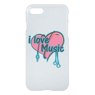 私は音楽を愛します iPhone 8/7 ケース