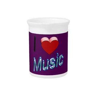 私は音楽2を愛します ピッチャー