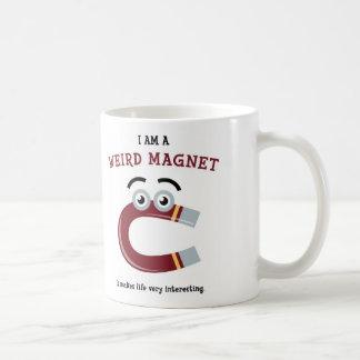 私は風変わりな磁石のマグです コーヒーマグカップ