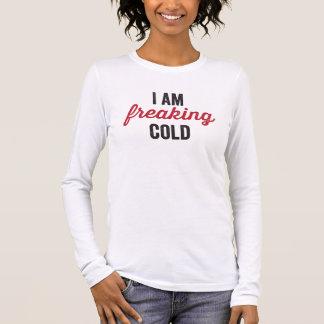 私は風邪をひどく神経質にしています Tシャツ