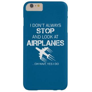 私は飛行機を常にストップし、見ません スキニー iPhone 6 PLUS ケース