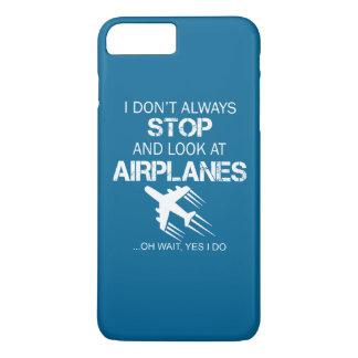 私は飛行機を常にストップし、見ません iPhone 7 PLUSケース
