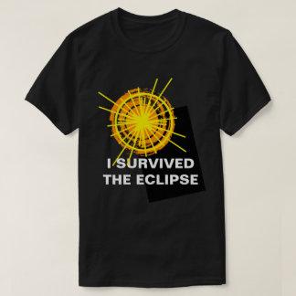 私は食のおもしろいなカスタマイズ可能の生き延びました Tシャツ