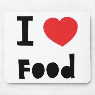 私は食糧を愛します マウスパッド