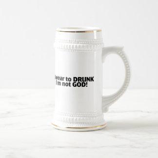 私は飲まれたImない神を誓います ビールジョッキ