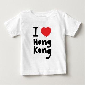 私は香港を愛します ベビーTシャツ