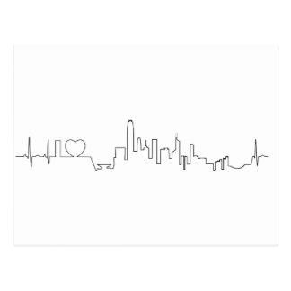 私は香港(ecgのスタイル)の記念品を愛します 葉書き