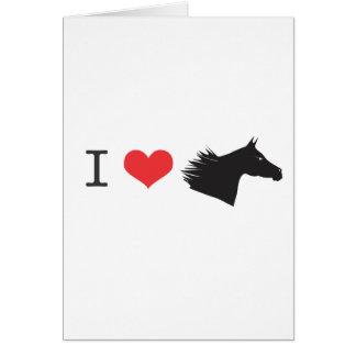 私は馬を愛します カード