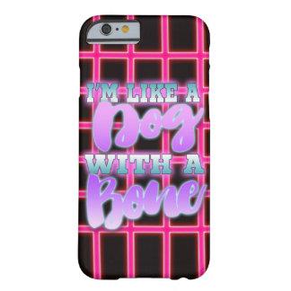 私は骨の80年代のスタイルのネオンのピンクの犬のようです- BARELY THERE iPhone 6 ケース