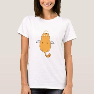 私は高脂肪猫-猫好きのためのPurfectのTシャツです Tシャツ