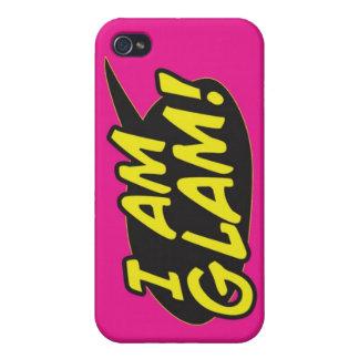 「私は魅力的な」ピンクのiPhone 4の電話包装です iPhone 4/4Sケース