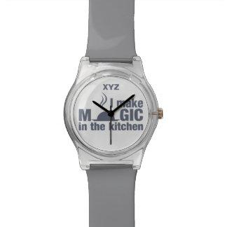 私は魔法のカスタムな腕時計を作ります 腕時計