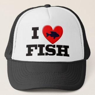 私は魚を愛します キャップ