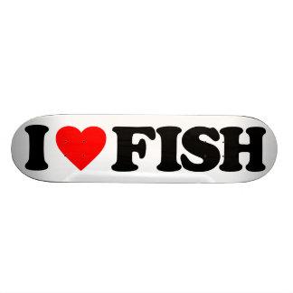 私は魚を愛します 21.6CM オールドスクールスケートボードデッキ