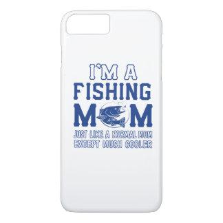 私は魚釣りのお母さんです iPhone 8 PLUS/7 PLUSケース