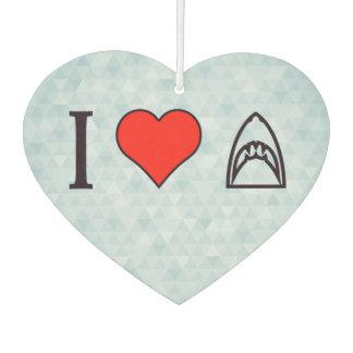 私は鮫を愛します カーエアーフレッシュナー