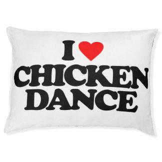 私は鶏のダンスを愛します ペットベッド