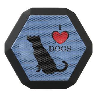 私は黒い犬のBoombotのレックスを愛します ブラックBluetoothスピーカー