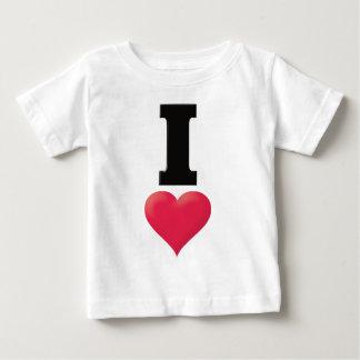 私は黒を愛します ベビーTシャツ