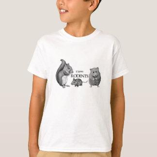 私は齧歯動物を愛します: リス、マウス、ハムスター: 鉛筆 Tシャツ