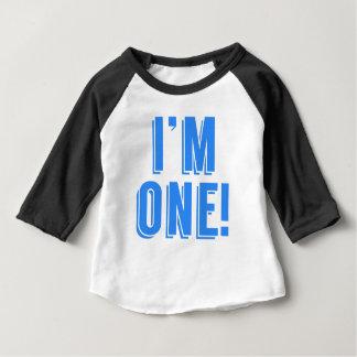 私は1才です ベビーTシャツ
