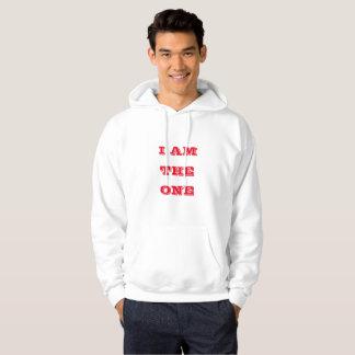 私は1才-白赤いDJ Khaledのフード付きスウェットシャツです パーカ