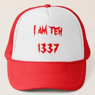 私は1337年の帽子です キャップ