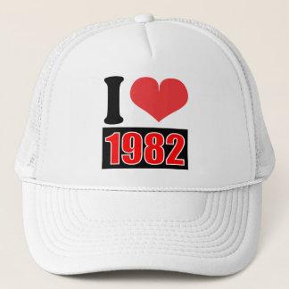 私は1982年を-    帽子愛します キャップ